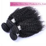O cabelo de tecelagem do preço de fábrica empacota a trama 100% malaia do cabelo do Virgin ondulado