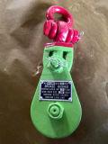 De macht bedekte H419 Snatch Blok 2t aan met een laag 15t met Ce