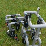 Tipo popular filtro do uso T de disco para a irrigação de gotejamento
