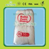 Кальсоны тренировки пеленки младенца дешевой ранга b устранимые вытягивают вверх по изготовлению Китая