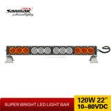 """22대의 """" 120W 밝은 LED Offroad 표시등 막대 차는 12 볼트 LED 표시등 막대를 분해한다"""