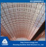 Edificio ligero prefabricado de la estructura de acero con la viga de H en la fábrica para el almacén