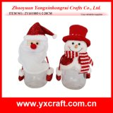Tarro de galleta de la Navidad de la decoración de la Navidad (ZY15Y043-1-2)
