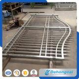 装飾用の私道の経済的な住宅の錬鉄のゲート(dhgate-12)