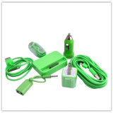 Colorful Combination Charger for iPhone 4/4s iPod (AK-001)