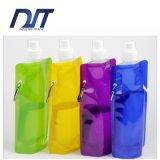 Großhandels-BPA geben faltende Wasser-Flaschen-faltbare Trinkwasser-Flasche frei