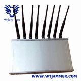 14 GSM CDMA 3G 4G WiFi Lojack VHF van de Desktop van de band Signaal van de Telefoon van de UHF-radio het mobiele Al Stoorzender van Banden