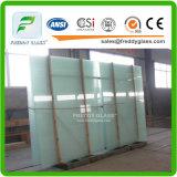 verre feuilleté à l'épreuve des balles durci coloré vert de verre feuilleté de 6.76mm