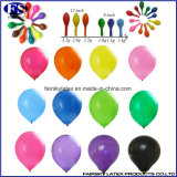 L'impression 10 pouces des ballons en latex 2.2g couleur standard pour la publicité