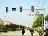 Poteau d'acier de signal de circulation galvanisé