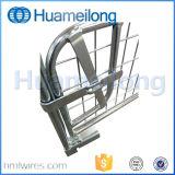 Складывая клетка паллета ячеистой сети металла стальная Stackable