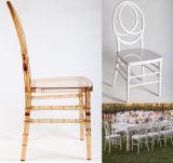 Madeira e resina de PC bodas de prata Phoenix Cadeira de beiral infinito