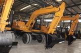 El mini excavador vendedor más caliente de la rueda en Chile Polonia