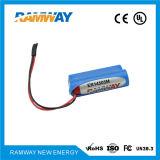 3.6V er14505m Batterie au lithium pour compteur d'eau de la carte de fréquence (RE14505M)
