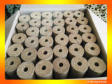Tubulação mineral Rockwool de lãs de rocha do fabricante profissional