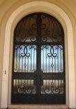 Шикарная дверь ковки чугуна с Openable стеклом