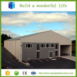 Planes prefabricados confeccionados del edificio del almacén del taller de la fábrica de la estructura de acero del mástil