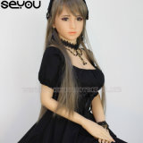 Reale blanke kleines Mädchen-künstliche weibliche Puppe-heißer Verkäufer 148 cm-japanische Mädchen-Silikon-Geschlechts-Puppen