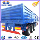 バルク貨物輸送のための3つの車軸側板かサイドボードまたは壁の側面のトラックの実用的なトレーラー