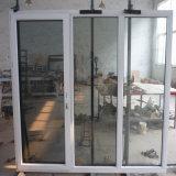 Дверь Multi двойника форточки стеклянная алюминиевая одетая деревянная
