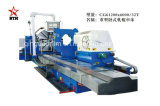Torno resistente horizontal del CNC para dar vuelta al eje largo con 50 años de experiencia (CG61160)