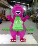 Hi fr71 Barney le costume de dinosaure