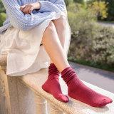 Fashion Lady fillesHot Sale lâche chaussettes de coton
