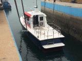 El FRP Barco piloto con Diesel en el interior