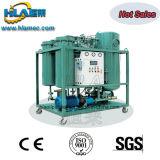 Dispositivo de purificação de óleo com lubrificante de resíduos móveis com refrigeração a vácuo