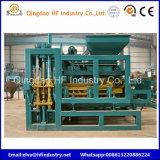 Máquinas de bloco de intertravamento4-16 Qt máquina para fabricação de tijolos automática para o Bangladesh