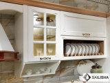 Armadio da cucina di legno dell'hotel dell'isola domestica moderna nordica della mobilia