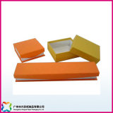 Изготовленный на заказ деревянная упаковывая коробка подарка бумаги картона ювелирных изделий/вахты/кольца (XC-1-015)