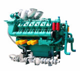 50Hz Googol Gasóleo Combustível Gas Natural Dual Engine para Gerador 280kw-2000kw