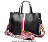Мешок женщин тесемки новой сумки Tote PU профессионала цветастый
