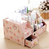 Factory Hot Sale Multi-Functional Wooden Desktop Cosmetic Storage Box