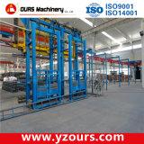 Profilé en aluminium Alimentation automatique et convoyeur gratuit dans la ligne de revêtement