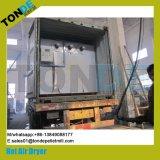 El reciclaje de Aire Caliente Industrial Meshroom vegetal de la carne de la máquina de secado