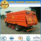 Rhd 5000L ausgedehnter Straßen-Kehrmaschine-LKW des Fahrzeug-4*2 für exportiert
