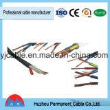Huzhou Rvv permanente 1mm 1,5 mm 2,5 mm 4mm 16mm 3 hilos de cobre PVC Cable eléctrico
