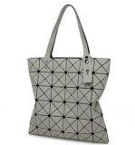 Il progettista di marca insacca il sacchetto piegante portatile di deformazione di Miya di Iss (LDO-01646)