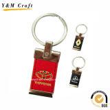 Qualität kundenspezifische Auto-Firmenzeichen PU-Schlüsselringe für Verkauf Ym1034