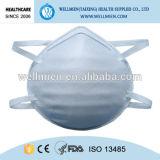 Schützende nichtgewebte Atemschutzmaske mit Ventil oder außen