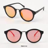 Óculos de sol redondos das mulheres novas da forma