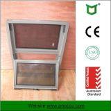 Australia colgado doble estándar de aluminio con doble vidrio de ventana