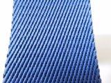 40mm Blau-Twill-Nylon-gewebtes Material