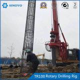 Plataforma de perforación rotatoria TR100 para el sitio cenagoso con el peso ligero