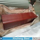 Folha galvanizada corrugada alta qualidade da telhadura da chapa de aço