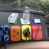 Pistas pegajosas antideslizantes al por mayor del teléfono celular del tablero de instrumentos del coche