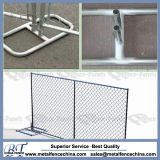 Recinzione provvisoria di collegamento Chain degli S.U.A. 6ftx10FT/barriera di sicurezza provvisoria di collegamento Chain