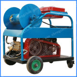 Máquina de limpeza do tubo de drenagem de esgotos 180bar